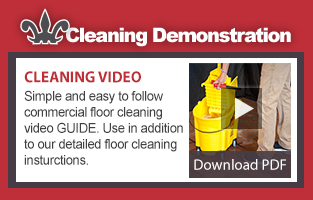 Quarry Tile Floor Cleaning Video
